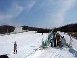 铭湖滑雪场图片