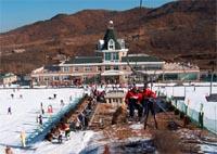 安波滑雪场滑雪场